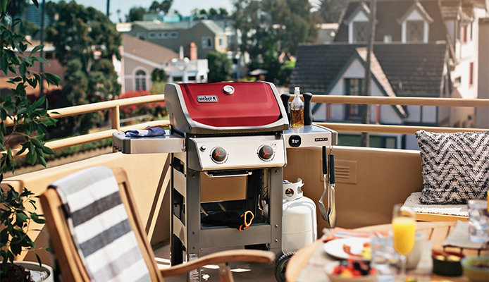 red weber grill